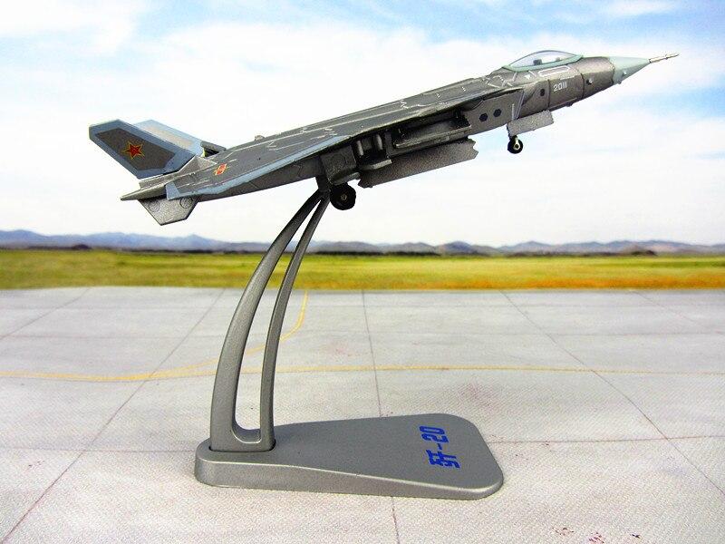 20 J20 истребитель модель 1:120 сплав серебра активных версия военная модель истребитель модели кораблей