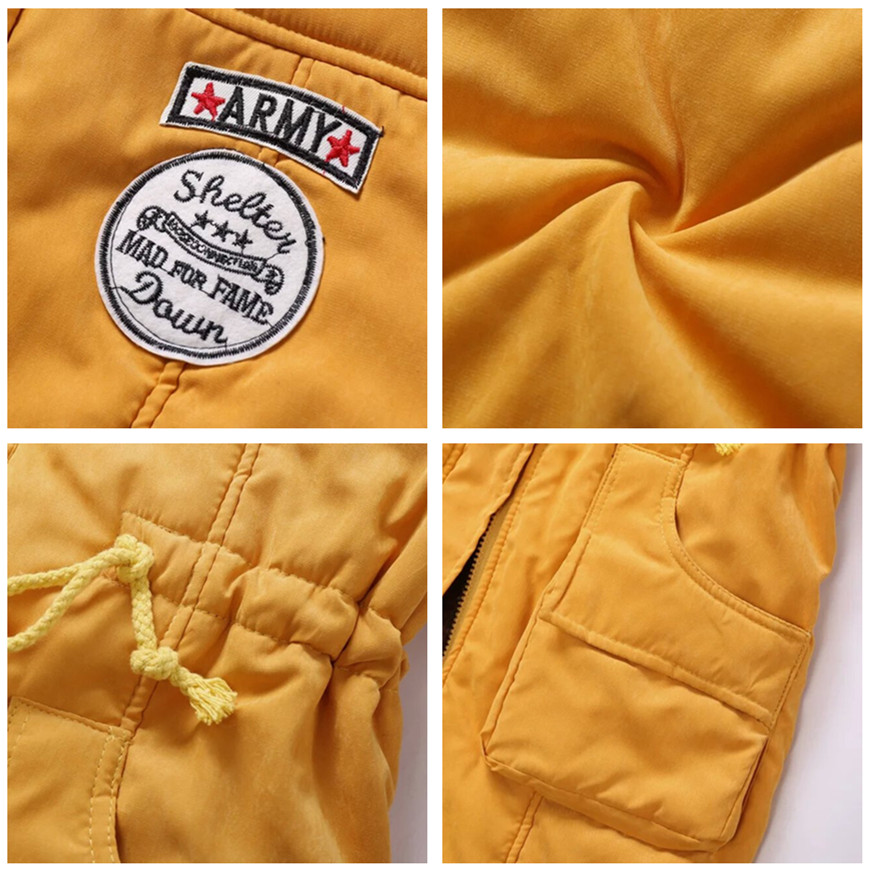 Women Parka Fashion Autumn Winter Warm Jackets Women Fur Collar Coats Long Parkas Hoodies Office Lady Cotton Plus Size 4
