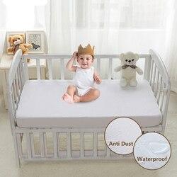 Capa de colchão impermeável terry pano colchão protetor capa para crianças anti ácaro poeira 1 pc