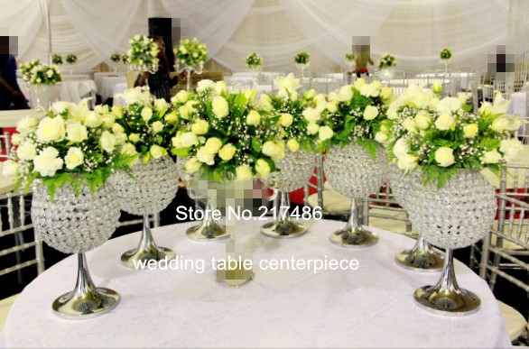 Crystal Flower Vase Centerpieces For Wedding Table Large Trump Rh  Aliexpress Com
