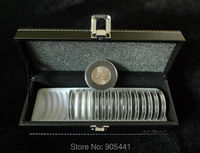 Coin Protection Holder Case Box (1*Storage Box+20*Coin circular holders Set)