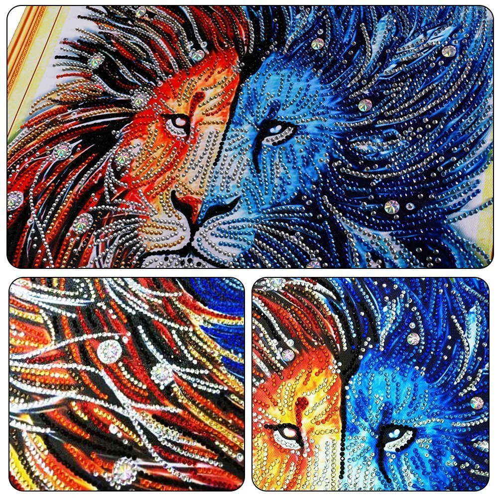 HUACAN-5D-DIY-Special-Shaped-Diamond-Painting-Cross-stitch-Diamond-Embroidery-Animals-Picture-Of-Rhinestones-Home (3)