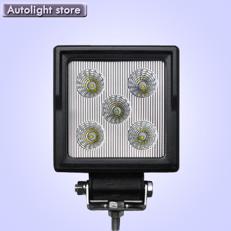 1PCS 15W Offroad LED Work Light Bar 4.3'' Driving Fog Lamp Car ATV SUV 4WD UTE 4X4 Motorcycle Truck Auto Headlight Spot
