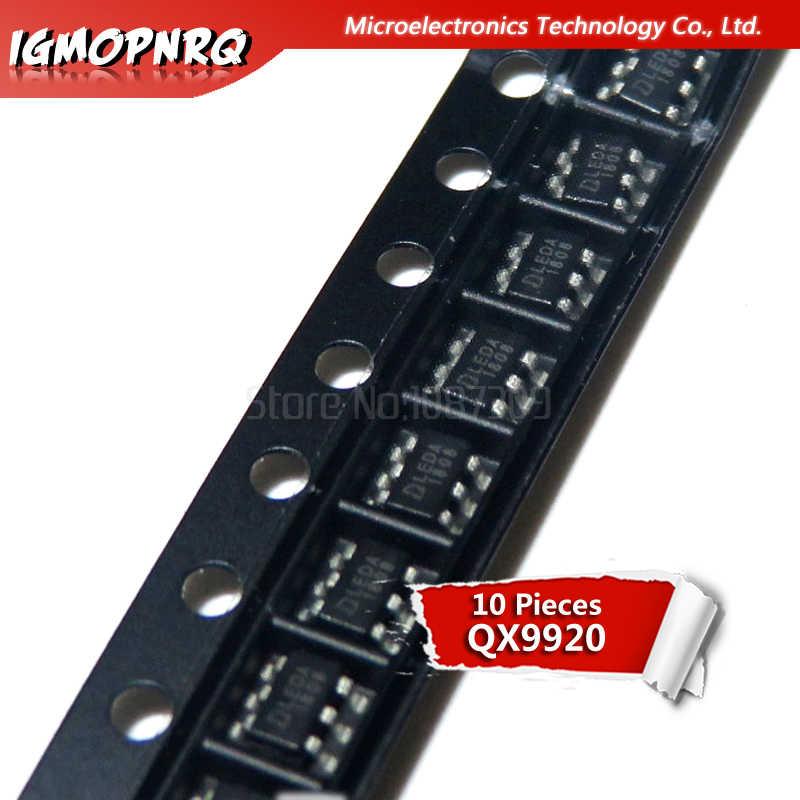 10 piezas QX9920 SOT23-6 9920 SOT LEDA SMD