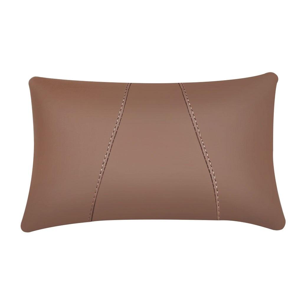 Поясная наволочка для подушки автомобиля креативная подушка для шеи для автомобиля - Цвет: Coffee