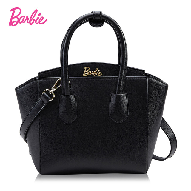 Barbie European Us Woman Simple Wild Leather Handbag Shoulder Tze Bag Wings Famous Brands