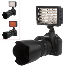 Neewer CN-160 LED Video Camera Light Bi-color Temperature Adjustable 3200K 5600K Photography DSLR Photo Light for Canon/Nikon