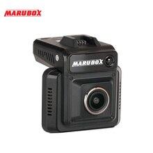 MARUBOX דאש מצלמת M620 רכב DVR גלאי רדאר GPS 3 ב 1 דאש מצלמה סופר HD 1296P וידאו Registrator מקליט G חיישן