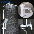 GAPPO bañera grifos ducha grifos mezclador baño ducha, bañera (sin ducha conjunto de ducha de lluvia de la cuenca del grifo ducha sistema Y03
