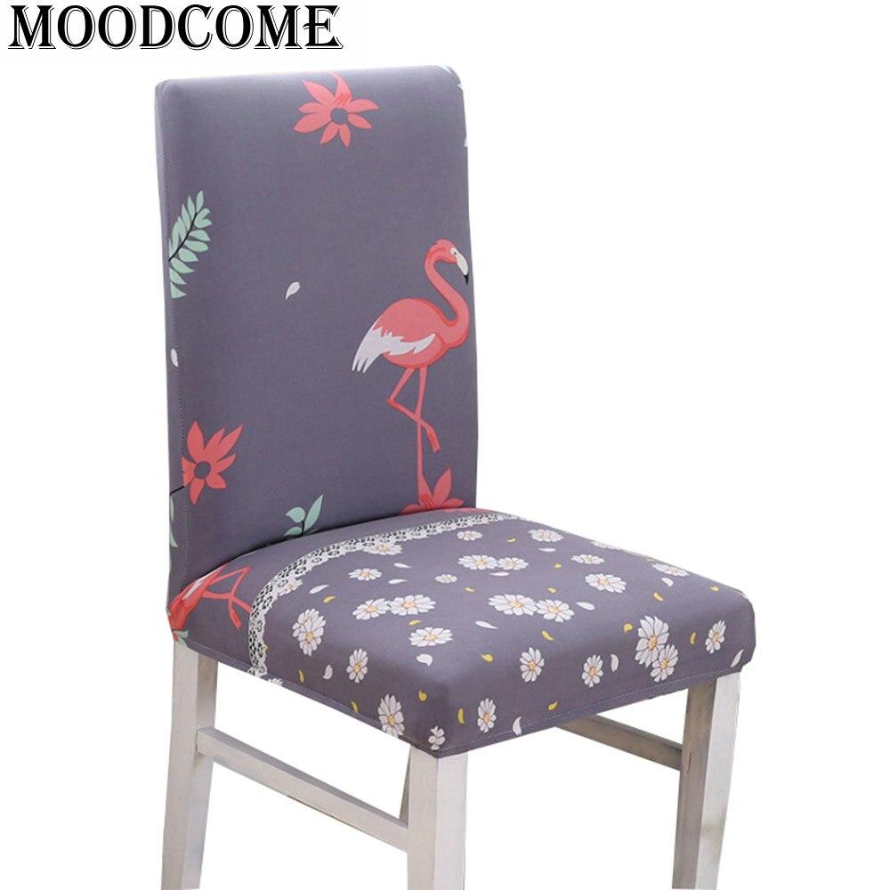 Падение доставка крышка спандекс стул столовая украшения новый год обеденный стрейч стул ...