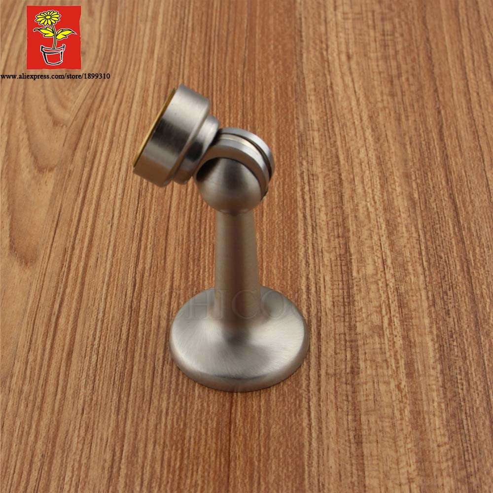 CHICOO High Quality Positioning Of The Door Brass Door Stopper Magnetic  Floor Mounted Door Holder