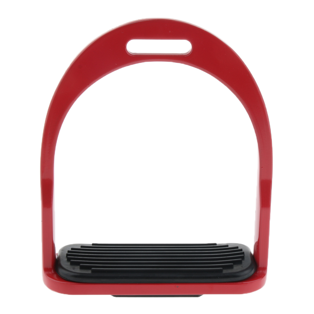 2 Pairs Western Horse Saddle Stirrups Racing Aluminium Tack Equestrian Flex Double Jointed Tool