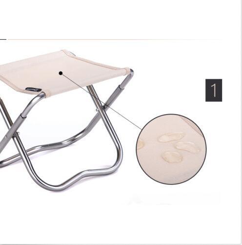 Mini Portable Camping Chaise Pliante En Aluminium Pique Nique Sige Tabouret De Pche Sac Transport Dans Outils Extrieurs Sports Et Loisirs Sur