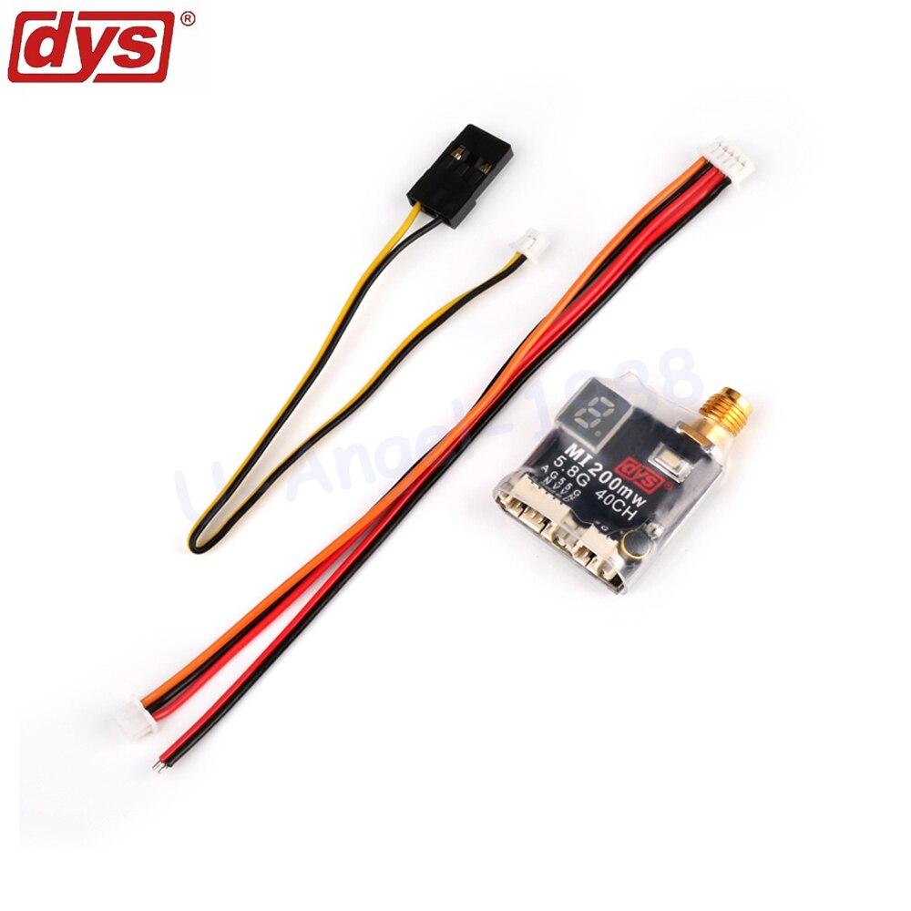1pcs DYS MI200MW 25MW 5 8GHz 40 Channels Mini Wireless A V Transmitting New Version for