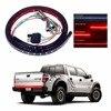 2x12V 60 Flexible LED Light Strip Tailgate Bar Backup Reverse Brake Tail Turn Signal Lights Lamp