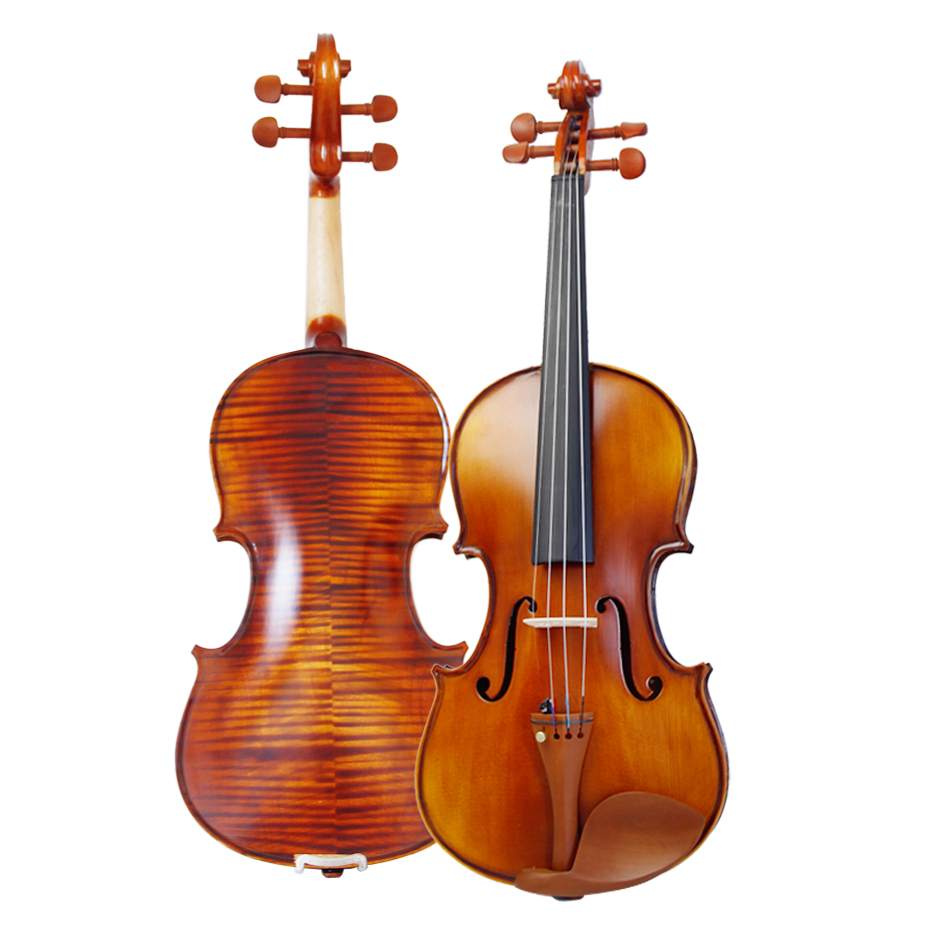 High quality, Spruce wood Jujube wood Tailpiece 4/4  violin Send violin case/Bows Maple Side Panel free shipping high quality 4 4 violin send violin hard case handmade white black electric violin with power lines