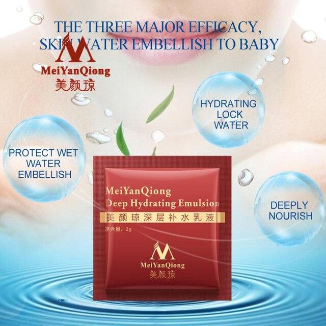MeiYanQiong Profonde Hydratant Émulsion Acide Hyaluronique Hydratant Crème Pour Le Visage Soins de La Peau Blanchissant Anti Winkles Ascenseur Raffermissant Beauté 4