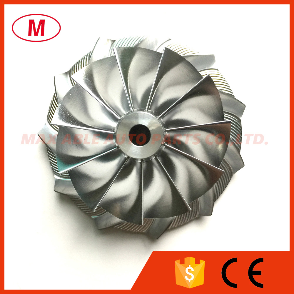 GT2871 452546 0005 53 11 70 98mm 11 0 blades Reverse Racing Turbo Billet Compressor wheel