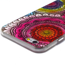 Fashion Owl Tower FlowerTPU Silicone Soft Case For Apple iphone 6 iphone6 4.7″