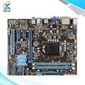 Para asus p8b75-m lx original usado madre de escritorio de intel b75 Socket LGA 1155 Para i3 i5 i7 DDR3 16G SATA3 USB3.0 uATX
