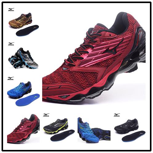 Mizuno Wave Prophecy 7 Professional спортивные Мужская обувь Открытый Для мужчин сетки вентиляции Вес подъема обувь 6 видов цветов Размер 40-45