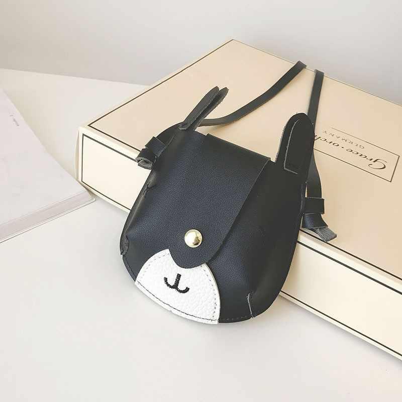 2019 симпатичная сумка через плечо для маленьких девочек, новые сумки-мессенджеры из искусственной кожи с рисунком оленя, сумка-кошелек