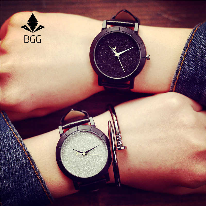 Cute Moon Stars Design Analog Wrist Watch Women Unique Romantic Starry Sky dial Casual Fashion quartz watches Woman Girl Gift