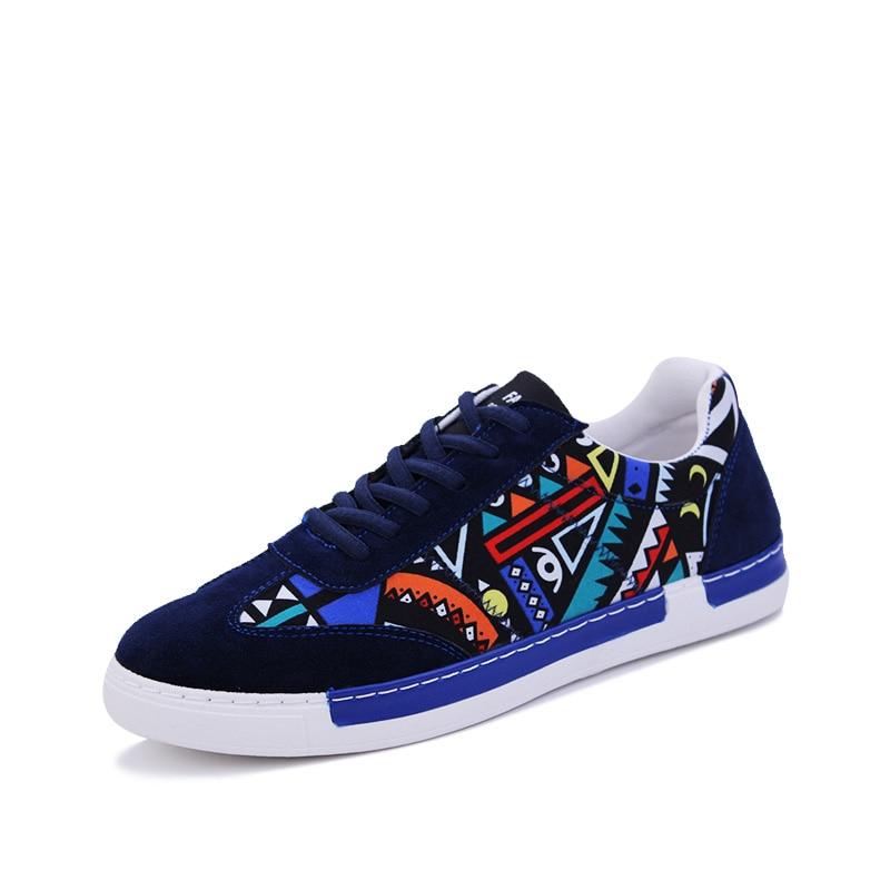 ФОТО 2017 New Spring/Autumn Men Casual Shoes Fashion Korea Flock Shoes Soft Men Shoes Breathable Low Lace-up Men Flats Size G22-39-44