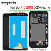For LG K10 2018 LCD Touch Screen Digitizer Replacement Parts For LG K11 LCD Display 5.3'' 1280x720 Free shipping + tools