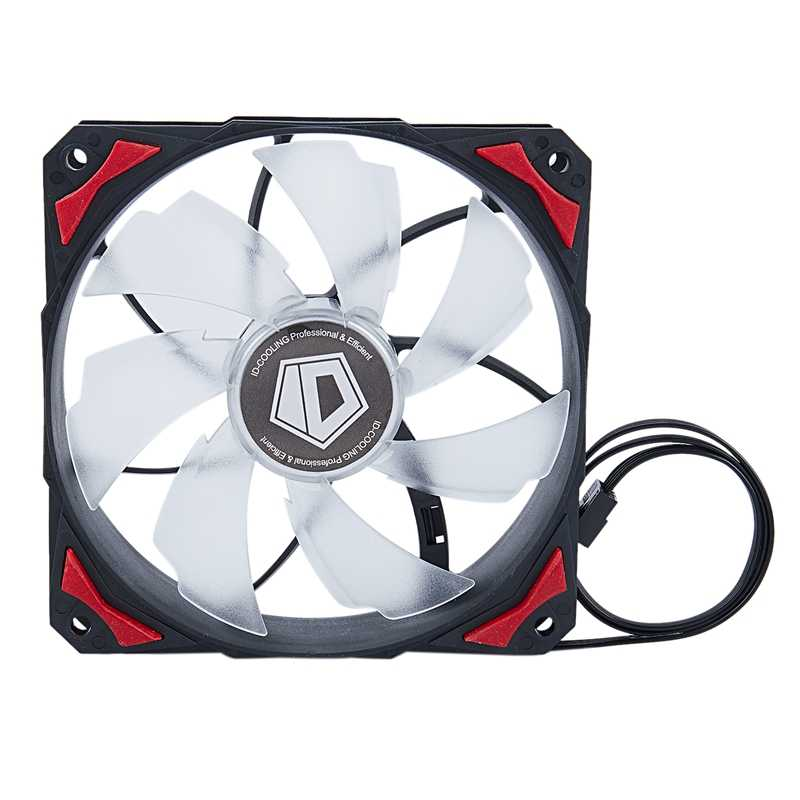 CONTROLLER Cooler PL-12025 120 Mm LED 4 ขา PWM ควบคุม