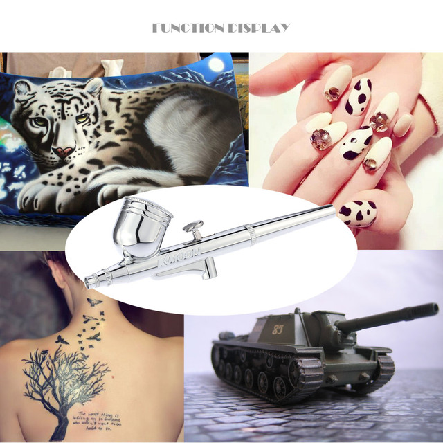 Art Painting Makeup Manicure Craft Model Air Brush Nail Tool Dual Action Airbrush Air Compressor Kit aerografo spray gun