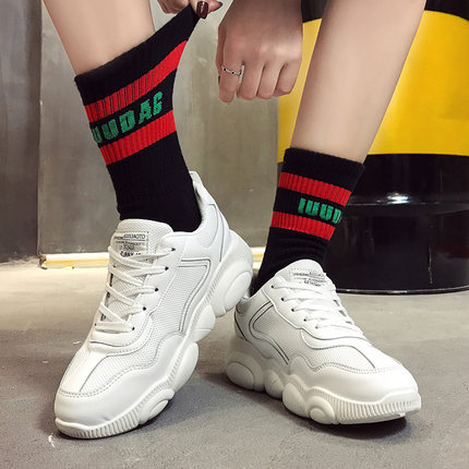 Bear summer shoes breathable mesh 2019 new wild spring white small old tide shoes. 10