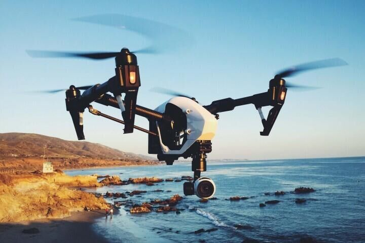 In Stock!!! New Product!! Original DJI Inspire 1 Quadrocopter with 4K HD Camera Deformed Transforming RC Drone