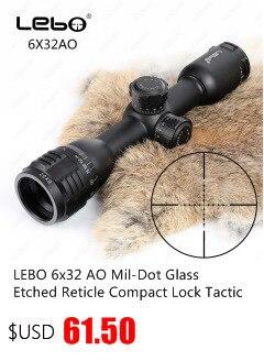 Caça 3-9X40 AO Riflescope Tático Mira Óptica