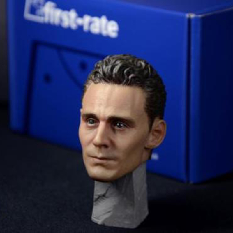 1/6 Scale Loki Tom Hiddleston Head Sculpt Model Toys For 12 Male Action Figure Collections Freeshipping