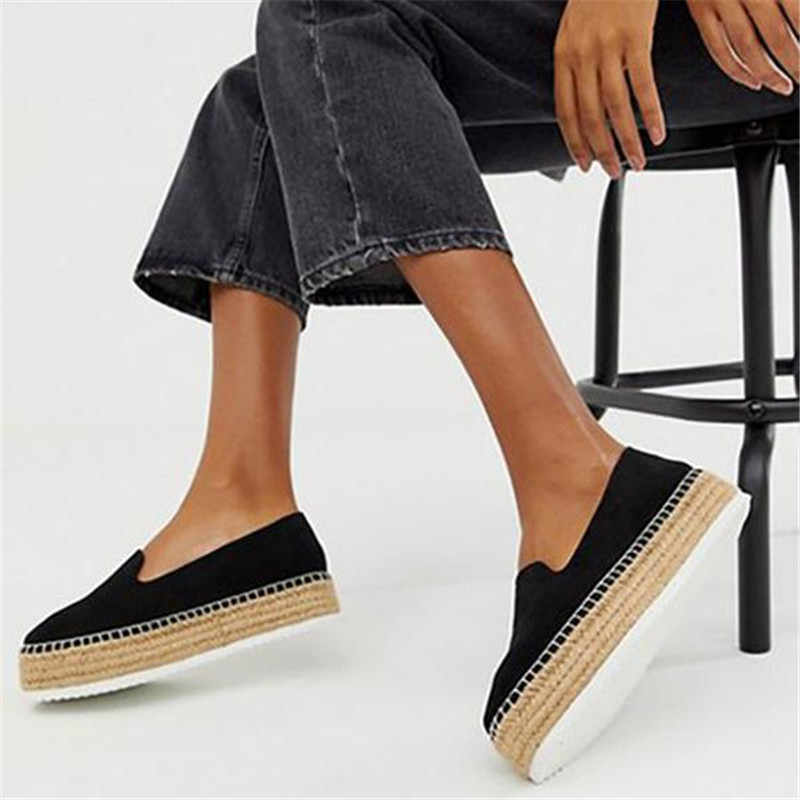 44fb34a2556 Detail Feedback Questions about HEFLASHOR Faux Suede Espadrilles ...