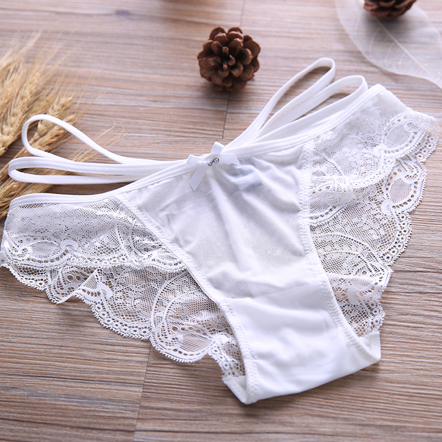 Breathable sexy bra lace transparent ultra-thin sponge push up white black young girl underwear bra set