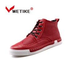 Men's Skateboarding Shoes Finale Evo High Ankle Skakeboarding Shoes For Men Outdoor Sports Shoes Sneaker Black Red Size US6.5-10