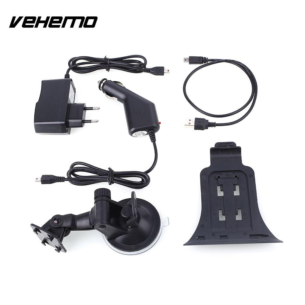 Vehemo Bluetooth GPS Car Navigation 7 Inches Multi Language Sound Notification