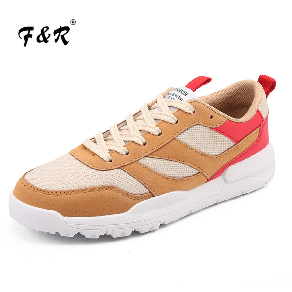 F&R 2018 New Spring Autumn Man Running Shoes Sports for Male Outdoor Walking Sneakers Comfortable Tennis Jogging Footwear 39-44