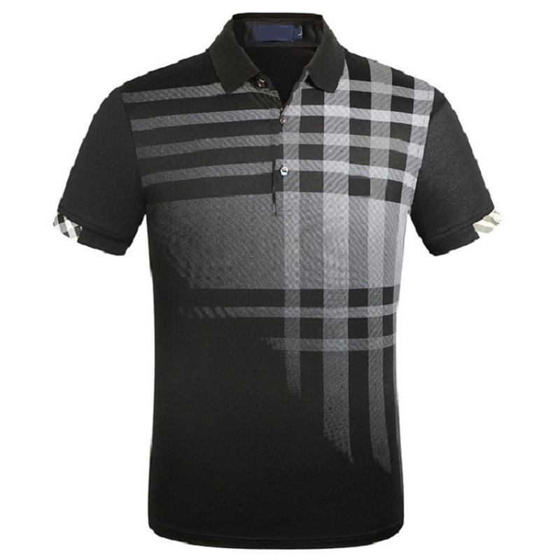 High Quality Brand Men's   Polo   Shirt Cotton Slim Golf Cool Shirts Park Short-Sleeved   Polos   European Size M-3XL;YA278