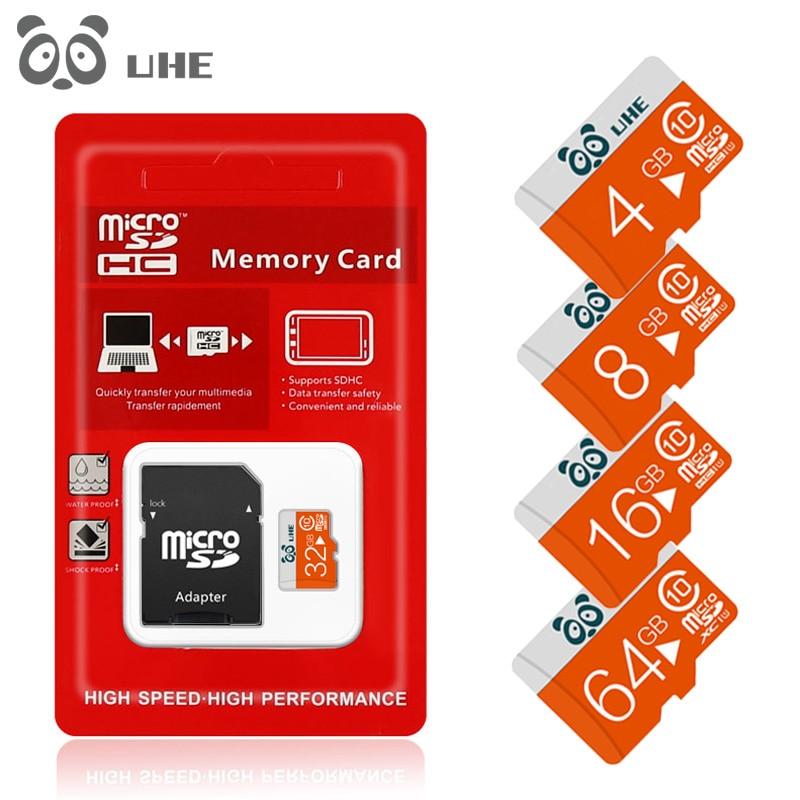 2019 Hot Sale Memory Card 64GB 32GB Micro Sd Card Class10 UHS-1 Flash Card 16GB 8GB 4GB Memory Microsd TF/SD Cards Free Shipping
