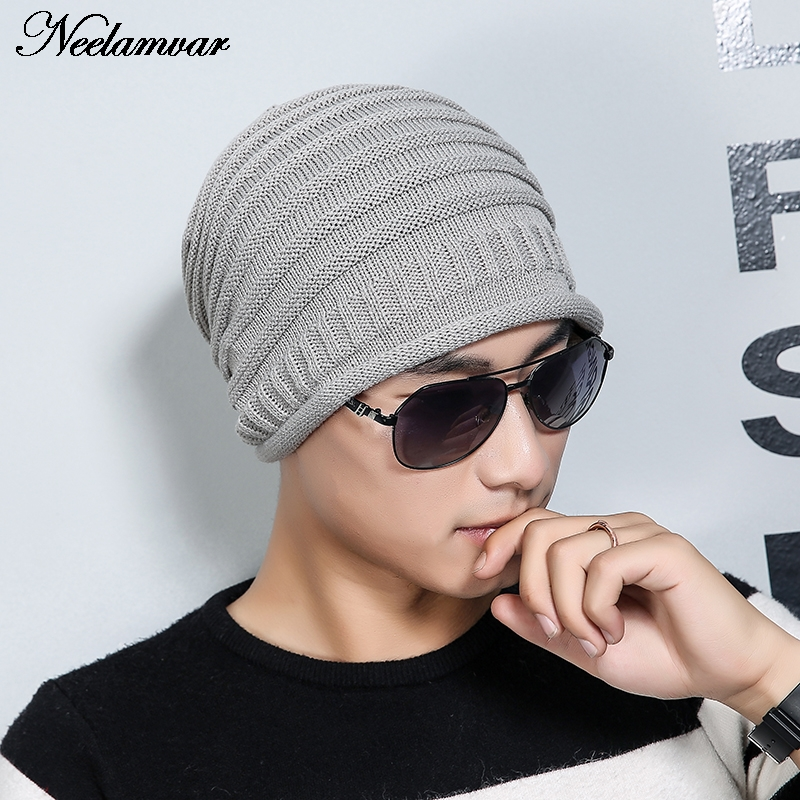 Casual Beanies for Men Women Winter Knitted Hat Elegant Ladies Hats Hip-hop Skullies Bonnet Unisex Cap Gorro gorros invierno 2016 winter women beanie adults hip hop hats diamond vogue men hats knitted ski skullies bonnet crochet casquette gorros de lana