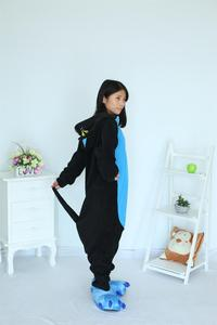 Image 3 - Kigurumi Midnight Cat Onesies Black Cat Pajamas For Unisex Adult Pajamas Cosplay Costume Animal Onesie Sleepwear Jumpsuit