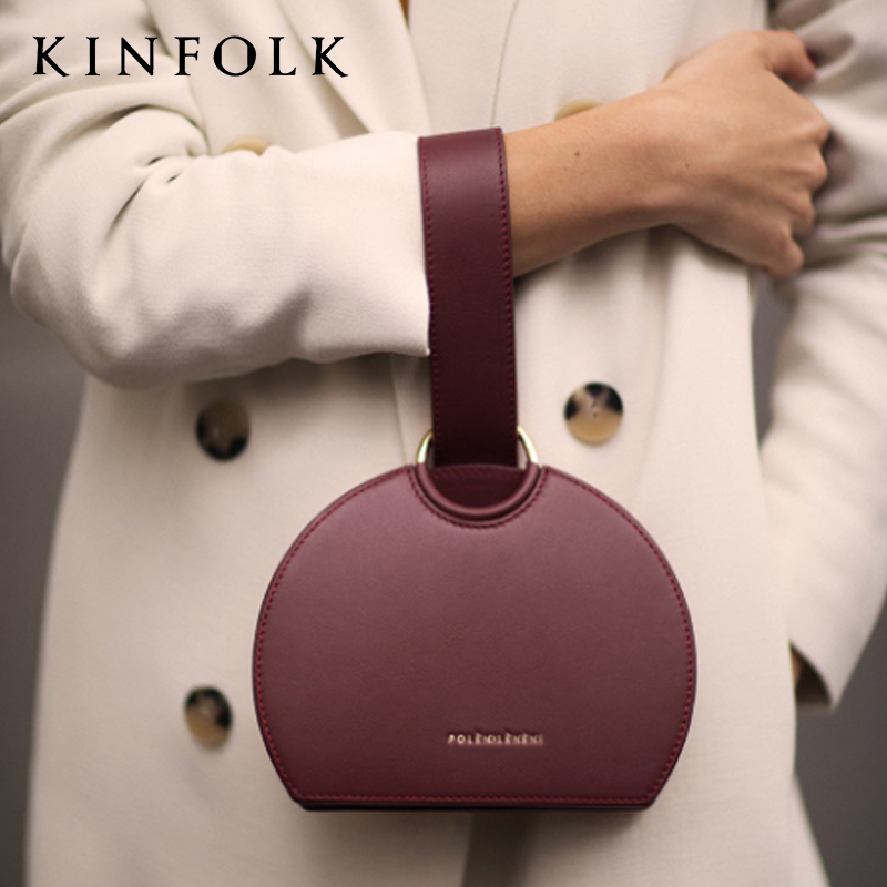 2019 Spring Summer New French Paris Style Round Simple Exquisite Acrylic Box Bag Luxury Women's Banquet Party Purse Bags