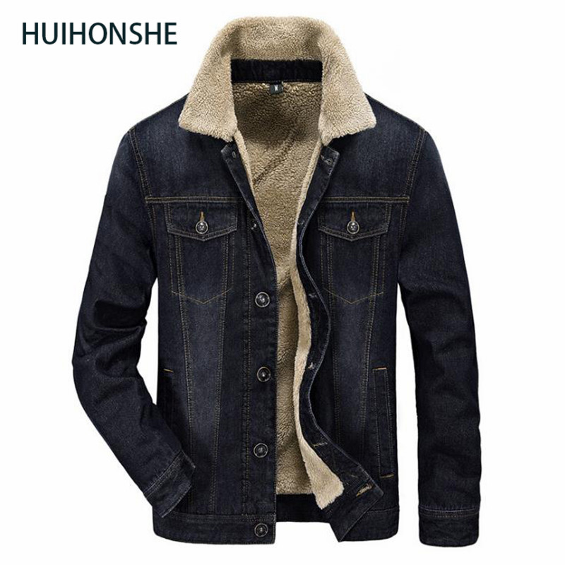 New Winter Cotton clothing Mens Men Denim Jacket Eur Style Casual Fur Thick Jeans Blazer Plus Velvet Outwear Coat Size 4XL lagre 2014 new european and american style high collar coat fur clothing brand men s fashion casual plaid cotton jacket
