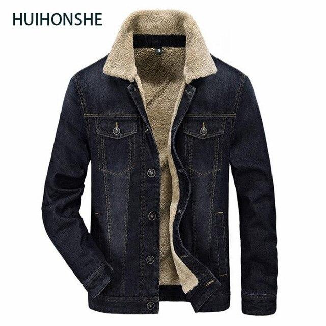 nieuwe winter katoenen kleding heren mannen denim jacket eur stijl