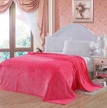 CAMMITEVER Lüks Polar yatak battaniyesi Süper Yumuşak Sıcak Bulanık Hafif Battaniye Kanepe Atmak Düz Renk Battaniye Ev Yatakları