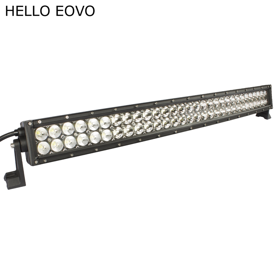 hello eovo 33 u0026quot  inch 180w curved led light bar for work