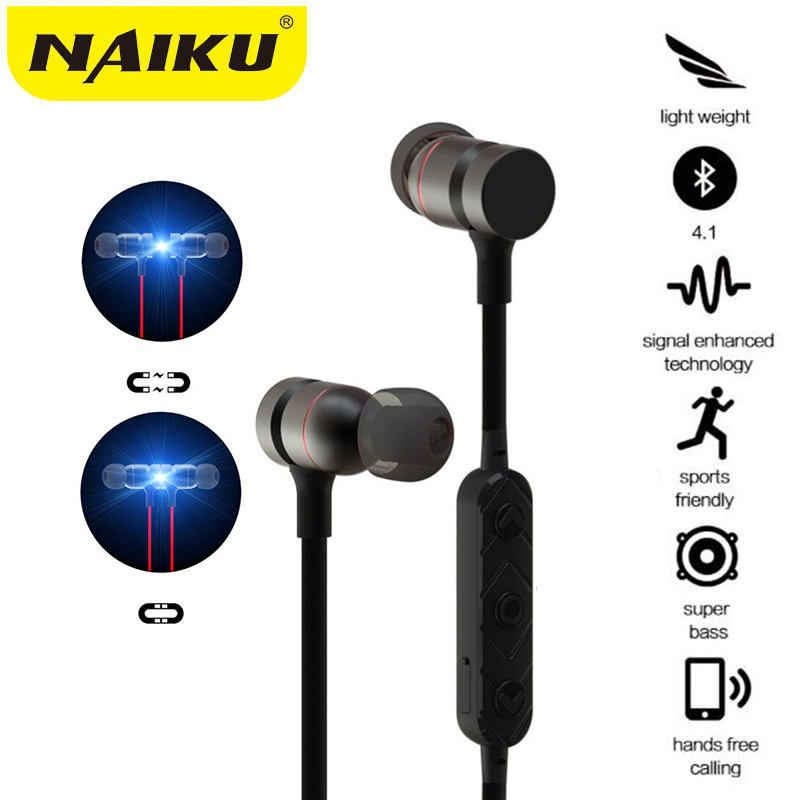 New Bluetooth Headphones Wireless In-Ear Noise Reduction earphone with Microphone Sweatproof Stereo Bluetooth Headset for xiaomi ...